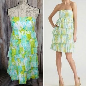 Lilly Pulitzer Arden Tiered Layered Dress